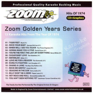 ZGY74 - Zoom Golden Years 1974