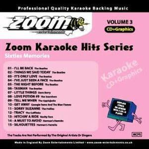 Karaoke Korner - Zoom Karaoke Hits Vol. 3