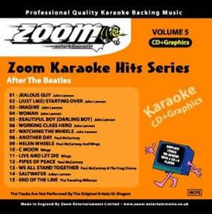 ZKH05 - Zoom Karaoke Hits Vol  5
