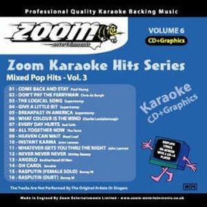 Karaoke Korner - Zoom Karaoke Hits Vol.6