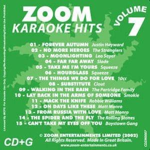 Karaoke Korner - Zoom Karaoke Hits Vol. 7