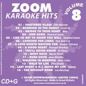 Karaoke Korner - Zoom Karaoke Hits Vol. 8