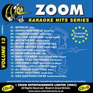Karaoke Korner - Zoom Karaoke Hits Vol. 13
