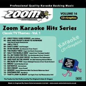 Karaoke Korner - Zoom Karaoke Hits Vol. 16