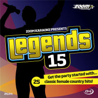 Karaoke Korner - Zoom Legends Female Country Greatest