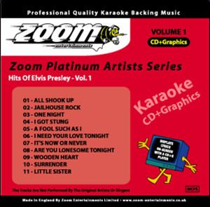 Karaoke Korner - Zoom Platinum Artists - Vol.1 - Style of Elvis Presley