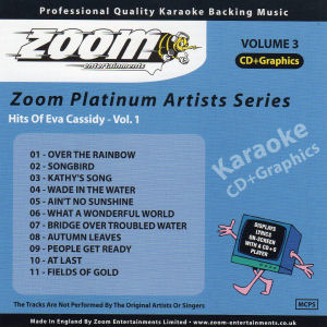 Karaoke Korner - Zoom Platinum Artists Vol 3 - Style of Eva Cassidy