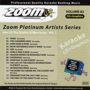 Karaoke Korner - Zoom Platinum Artists - Volume 83