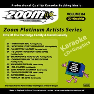 Karaoke Korner - Zoom Platinum Artists - Volume 84