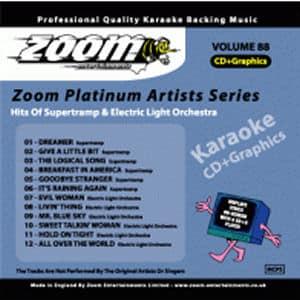 Karaoke Korner - Zoom Platinum Artists - Volume 88