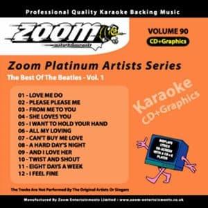 Karaoke Korner - Zoom Platinum Artists - Volume 90