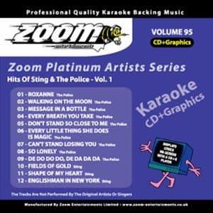 Karaoke Korner - Zoom Platinum Artists - Volume 95