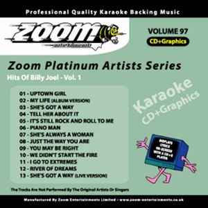 Karaoke Korner - Zoom Platinum Artists - Volume 97