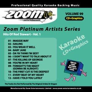 Karaoke Korner - Zoom Platinum Artists - Volume 99