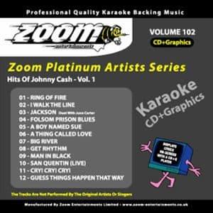 Karaoke Korner - Zoom Platinum Artists - Volume 102