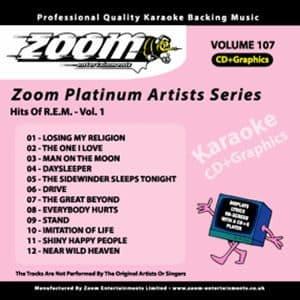 Karaoke Korner - Zoom Platinum Artists - Volume 107