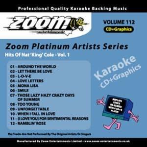 Karaoke Korner - Zoom Platinum Artists - Volume 112