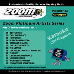 Karaoke Korner - Zoom Platinum Artists - Volume 116