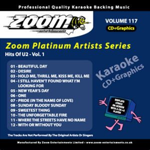 Karaoke Korner - Zoom Platinum Artists - Volume 117