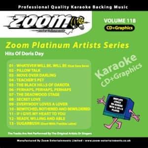 Karaoke Korner - Zoom Platinum Artists - Volume 118