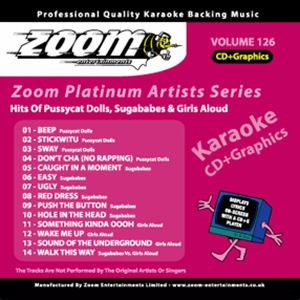 Karaoke Korner - Zoom Platinum Artists - Volume 126