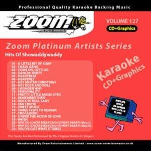 Karaoke Korner - Zoom Platinum Artists - Volume 127