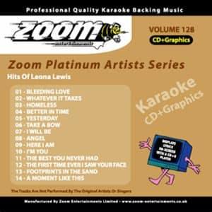 Karaoke Korner - Zoom Platinum Artists - Volume 128