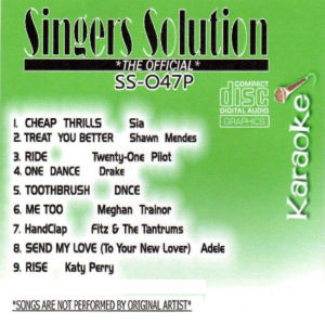ss047 - Singer's Solution Pop #47