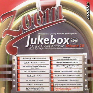 zjb20 - Zoom Jukebox Series Karaoke CDG Vol 20