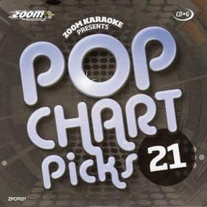 Karaoke Korner - zpcp021 - Zoom Karaoke Pop Chart Picks Vol 21