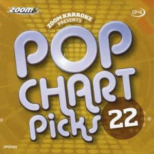 Karaoke Korner - zpcp022 - Zoom Karaoke Pop Chart Picks Vol 22