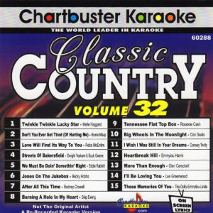 cb60288 - Classic Country Vol 32