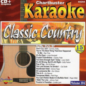cb60294- Classic Country Vol 294