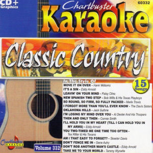 cb60332 - Classic Country Vol 332