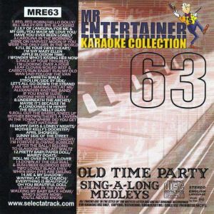 mre63 - Mr Entertainer Collection - Old Time Party Singalong