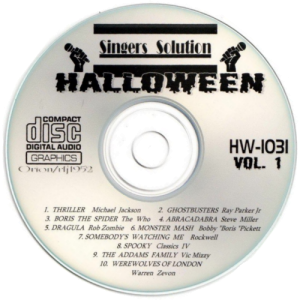 sshw1031 - Singer's Solution Halloween Vol. 1