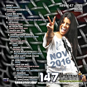 mrh147 - Mr Entertainer Hits Vol 147 - November 2016