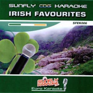 sfek006 - Sunfly Euro Karaoke CDG Vol 6 - Irish Ballads