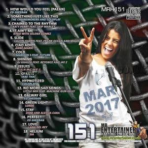 mrh151 - Mr Entertainer Karaoke Hits Vol 151 - March 2017