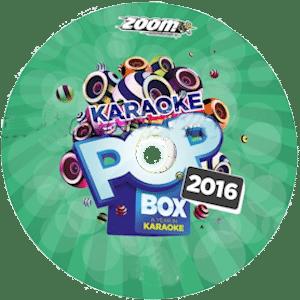 zpbx2016 - Zoom Karaoke Pop Box 2016 - 120 Super Pop Hits of 2016 on 6 CDG