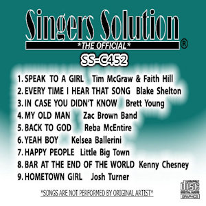 ssc452 - Singers Solution Country #452