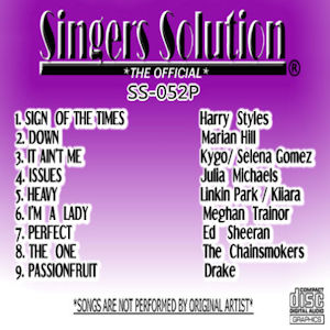 ss052 – Singers Solution Pop