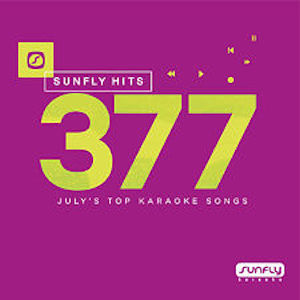 sf377 - Sunfly Karaoke Hits Vol 377