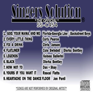ssc454 - Singers Solution Country 454