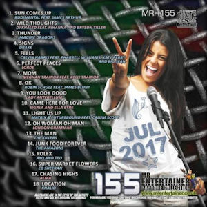 mrh155 - Mr Entertainer Hits Vol 155 - July 2017