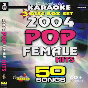 cb5044R-2004 Pop Female Hits