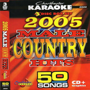 cb5052 - 2005 Male Country Hits