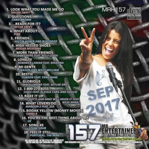 mrh157 - Mr Entertainer Hits Vol 157 - September 2017