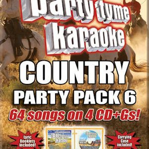 syb4483 – PARTY TYME KARAOKE – COUNTRY PARTY PACK 6