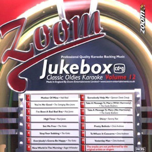 zjb12 - Zoom Karaoke Juke Box Classic Oldies Volume 12